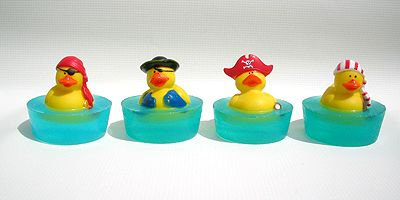 Pirate Ducky Soaps