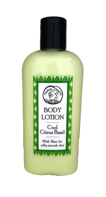 Organic Cool Citrus Basil Lotion