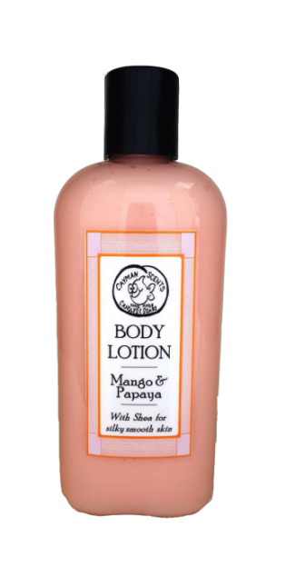 Organic Mango & Papaya Lotion