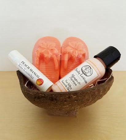 Mango & Papaya Gift Set