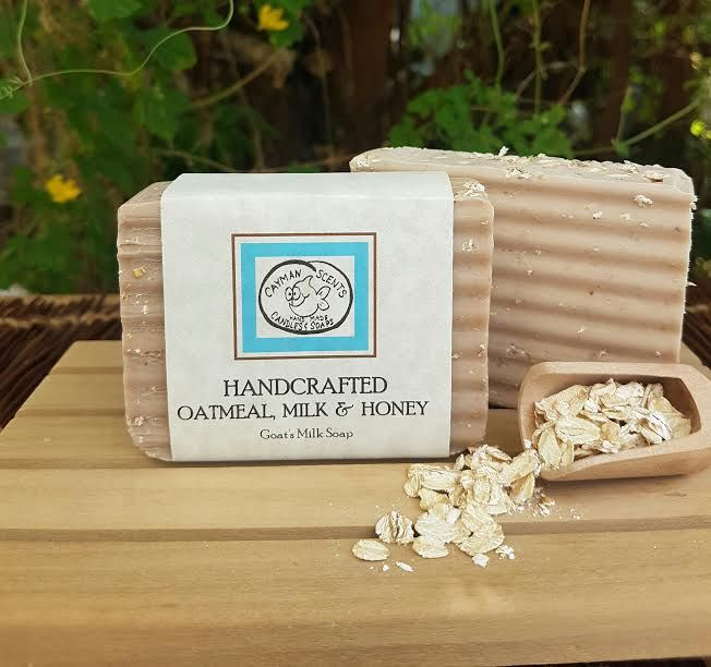 Oatmeal & Cayman Honey Soap