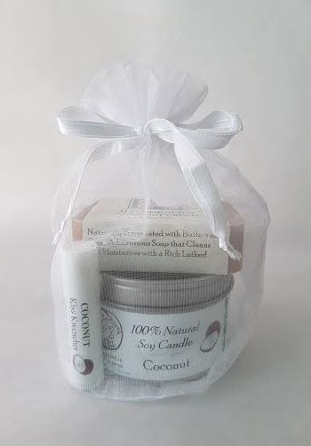 Coconut Cream Gift Set in bag