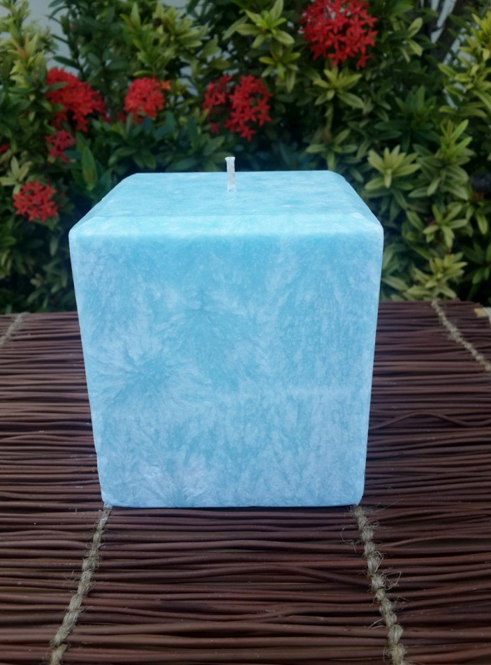 Palm Candle Flannel Sheets